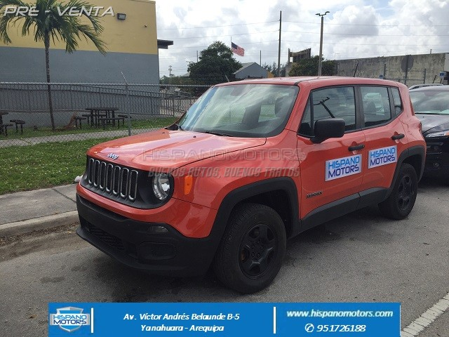 2015 JEEP RENEGADE 1.4 TURBO 4X4 (MANUAL)  - Foto del auto importado