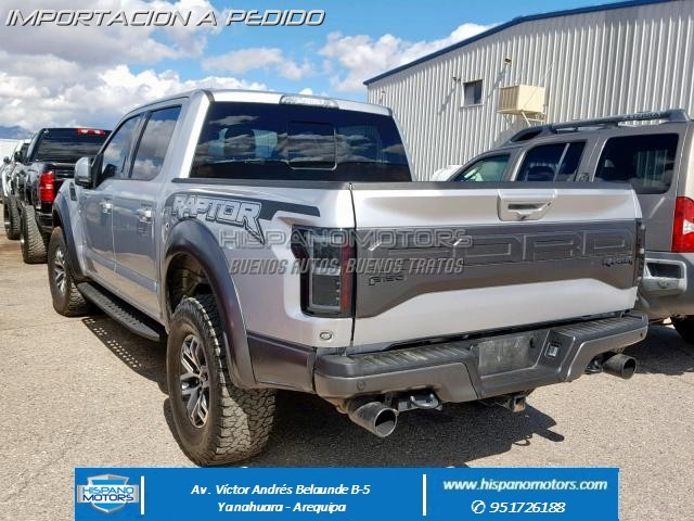 2017 FORD F150 RAPTOR CREW PICK UP   - Foto del auto importado