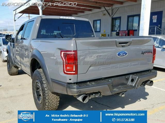 2018 FORD F150 RAPTOR CREW PICK UP  - Foto del auto importado