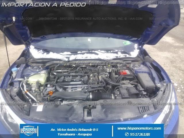 2016 HONDA CIVIC EX 1.5T  - Foto del auto importado