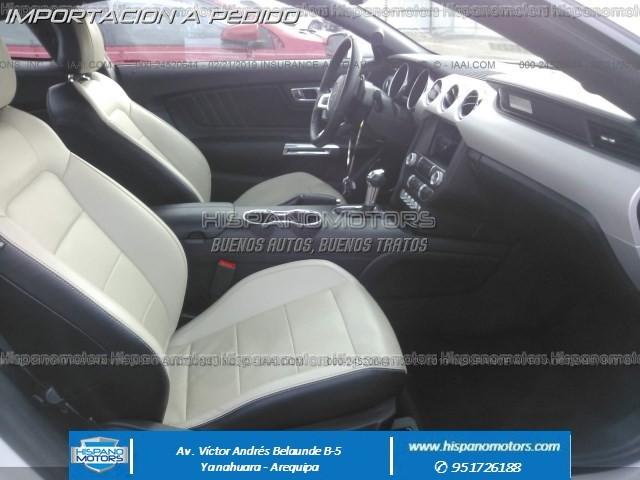 2017 FORD MUSTANG Ecoboost Premium   - Foto del auto importado