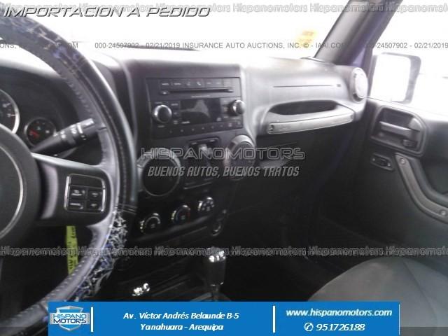 2017 JEEP WRANGLER SPORT 4X4 AT  - Foto del auto importado
