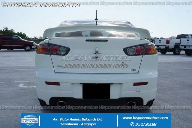 2015 MITSUBISHI LANCER RALLIART TURBO  - Foto del auto importado