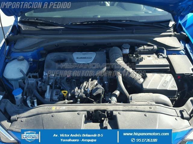 2017 HYUNDAI ELANTRA SPORT 1.6 TURBO MECANICO  - Foto del auto importado