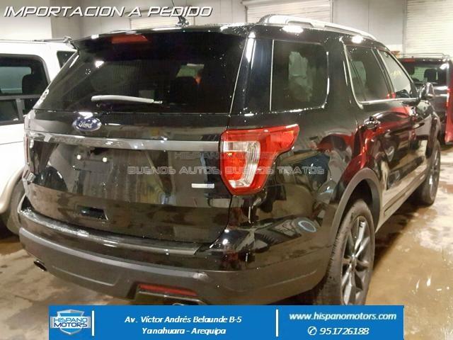 2018 FORD EXPLORER XLT 2.3T Ecoboost  - Foto del auto importado