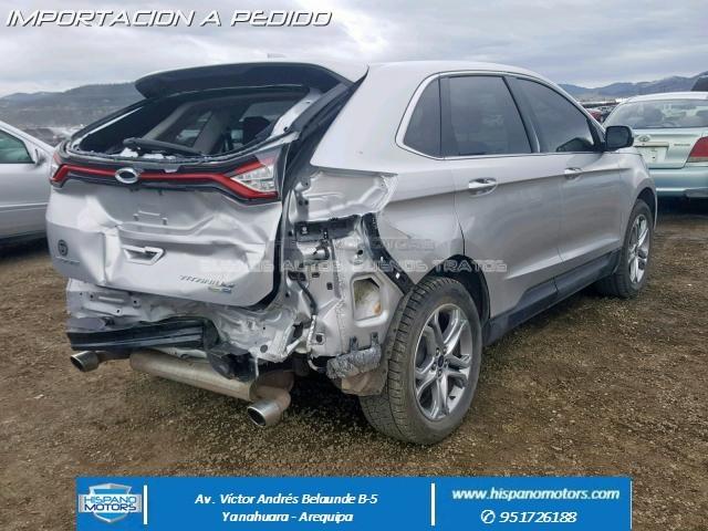 2017 FORD EDGE 2.0T TITANIUM AWD  - Foto del auto importado
