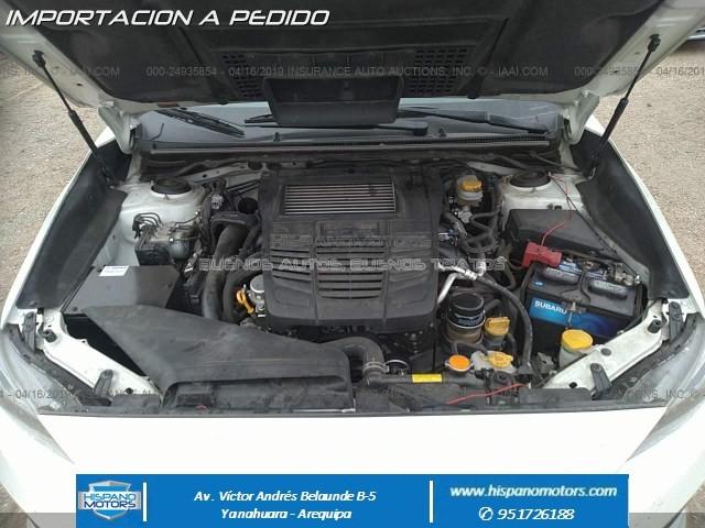 2017 SUBARU WRX 2.0T AWD MT  - Foto del auto importado