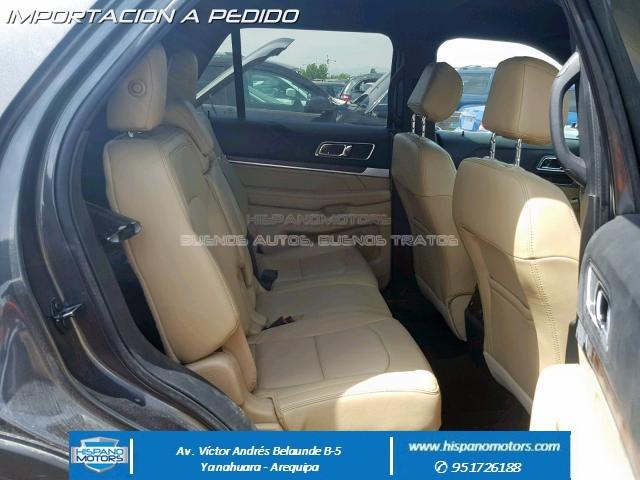 2017 FORD EXPLORER LIMITED Ecoboost 4X4  - Foto del auto importado