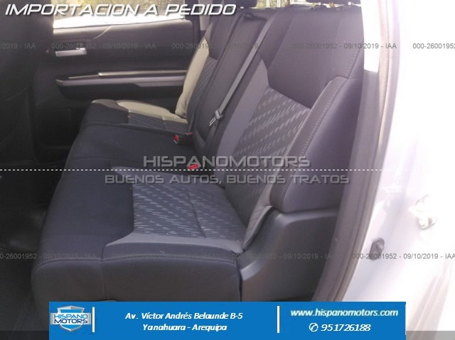 2018 TOYOTA TUNDRA TRD OFF ROAD 4X4  - Foto del auto importado