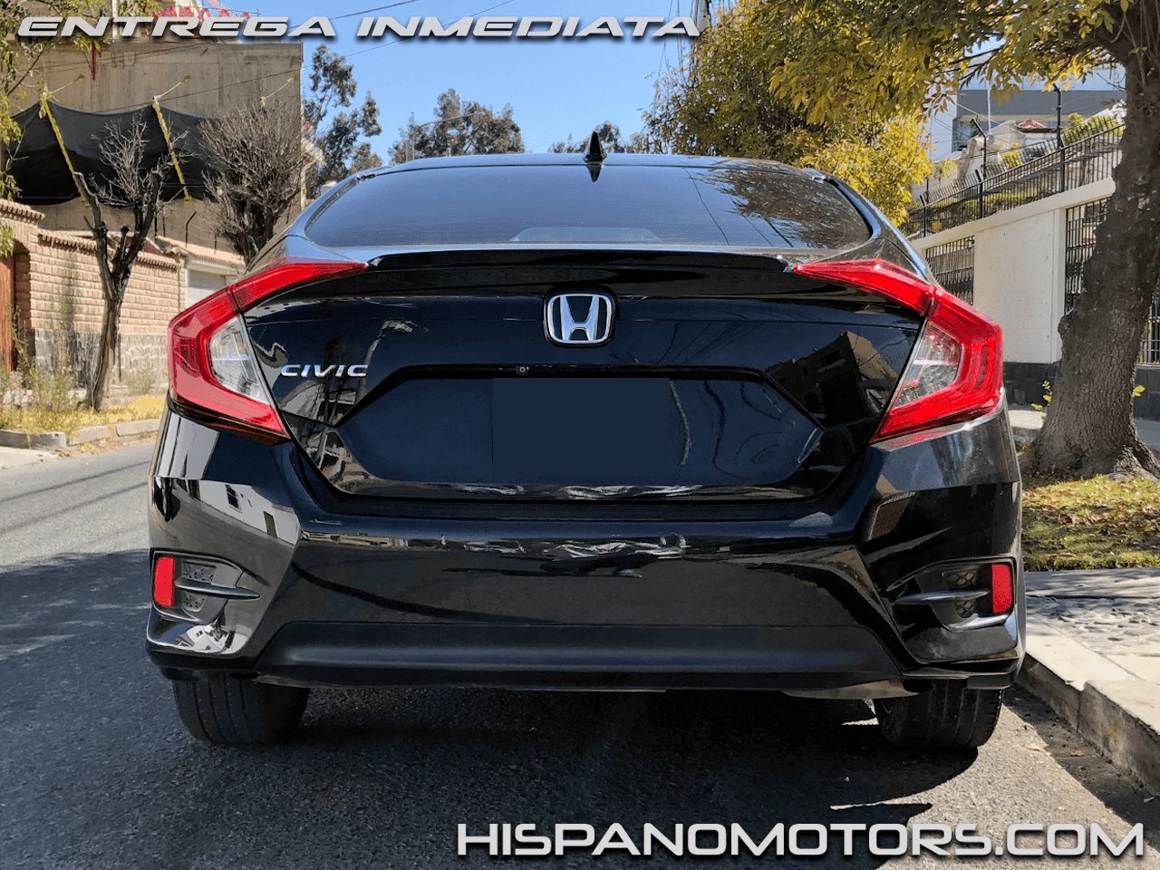 2017 HONDA CIVIC  EX-T 1.5 TURBO (MANUAL)  - Foto del auto importado