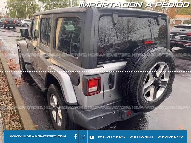 2020 JEEP WRANGLER UNLIMITED SAHARA 2.0T    - Foto del auto importado