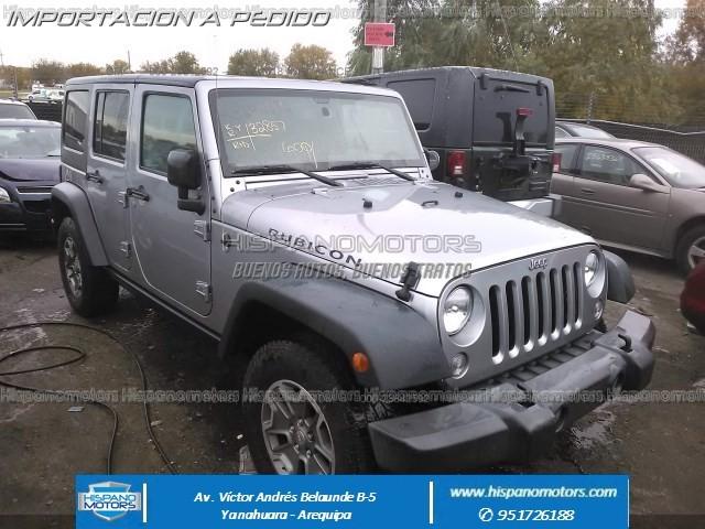 2015 JEEP WRANGLER UNLIMITED RUBICON  - Arequipa - Perú - auto importado por Hispanomotors