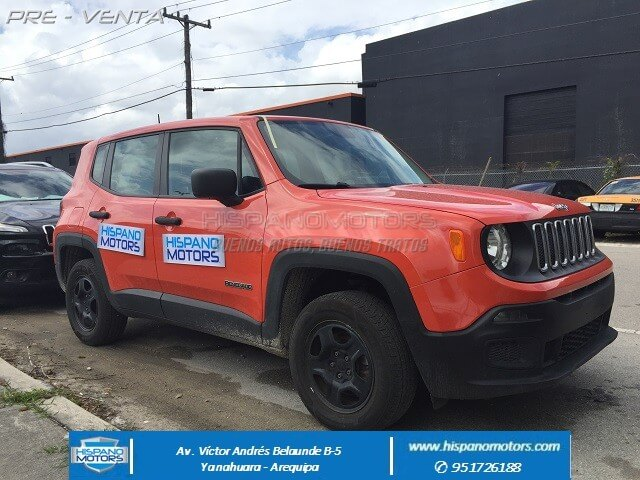 2015 JEEP RENEGADE 1.4 TURBO 4X4 (MANUAL) - Arequipa - Perú - auto importado por Hispanomotors