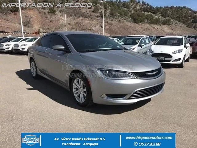 2016  CHRYSLER 200 LIMITED  - Arequipa - Perú - auto importado por Hispanomotors