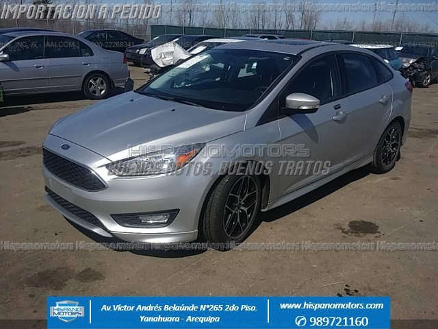 2016 FORD FOCUS SEL (SUNROOF)
