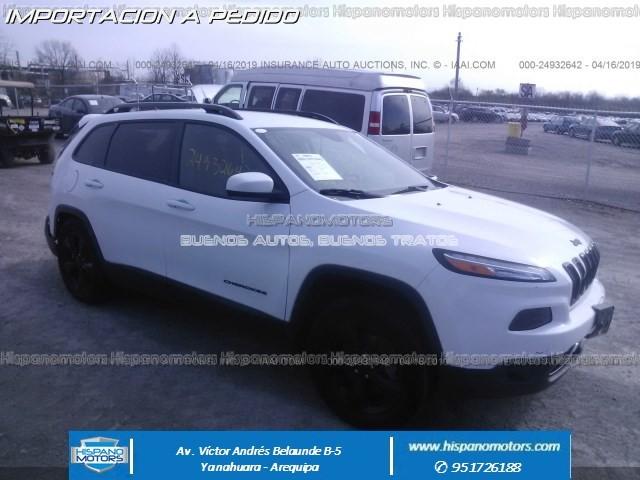 2016 JEEP CHEROKEE LATITUDE 2.4 4X4 - Arequipa - Perú - auto importado por Hispanomotors