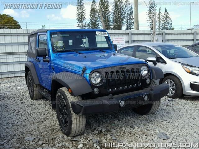 2016 Jeep Wrangler Sport 30000 Usd Arequipa