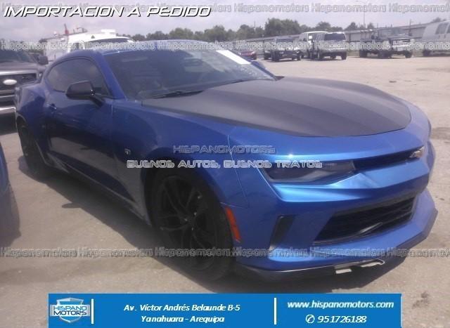 2017 CHEVROLET CAMARO RS MECANICO - Arequipa - Perú - auto importado por Hispanomotors