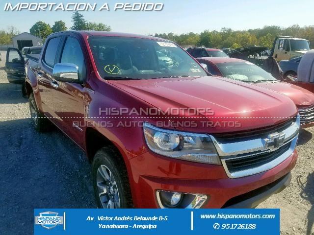2017 CHEVROLET COLORADO LT TURBODIESEL - Arequipa - Perú - auto importado por Hispanomotors
