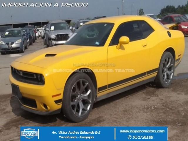 2017 DODGE CHALLENGER  SXT - Arequipa - Perú - auto importado por Hispanomotors