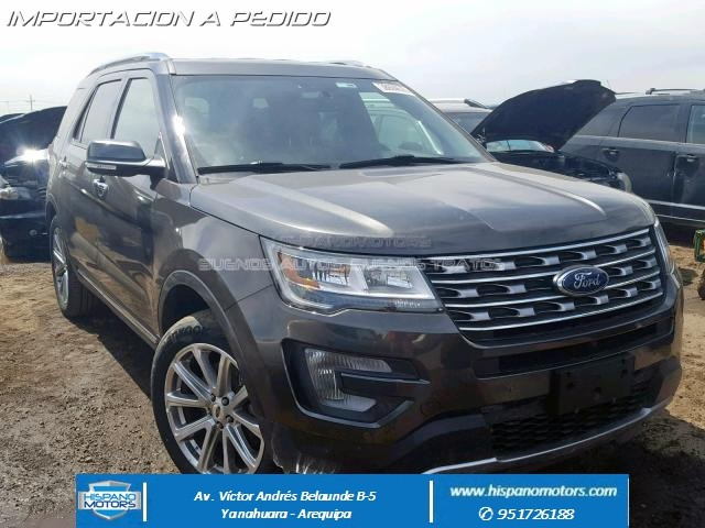 2017 FORD EXPLORER LIMITED Ecoboost 4X4