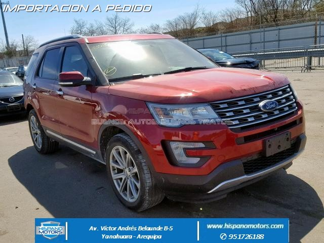 Foto del vehiculo: FORD EXPLORER  LIMITED  2017
