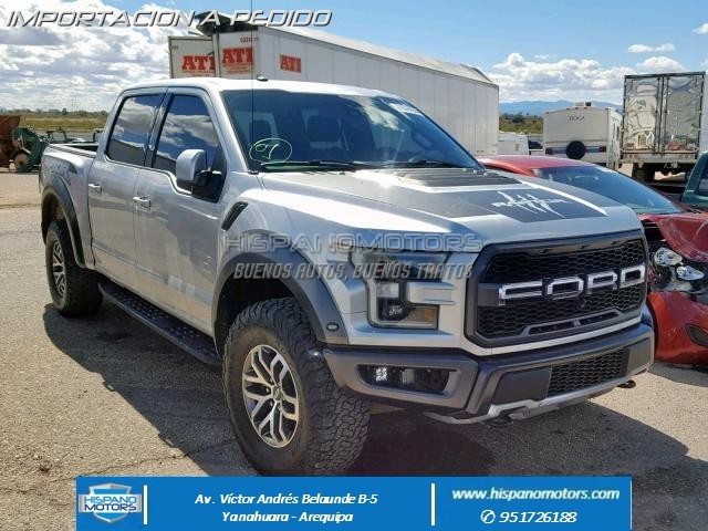 2017 FORD F150 RAPTOR CREW PICK UP  - Arequipa - Perú - auto importado por Hispanomotors