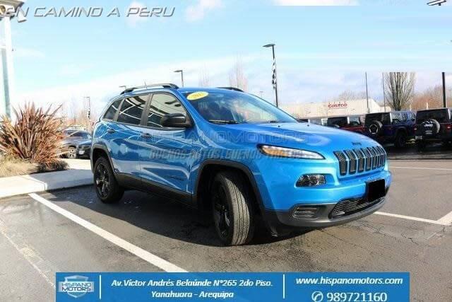 2017 JEEP CHEROKEE  - Arequipa - Perú - auto importado por Hispanomotors