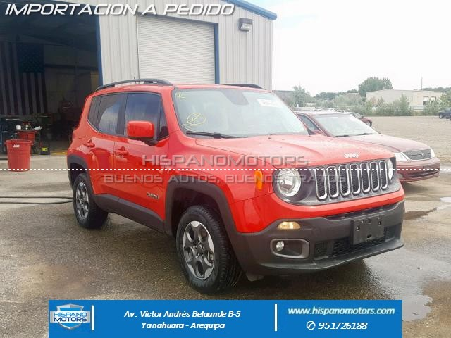 Foto del vehiculo: JEEP RENEGADE 1.4T LATITUDE MT 4X4 2017