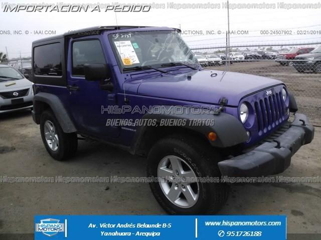 2017 JEEP WRANGLER SPORT 4X4 AT - Arequipa - Perú - auto importado por Hispanomotors