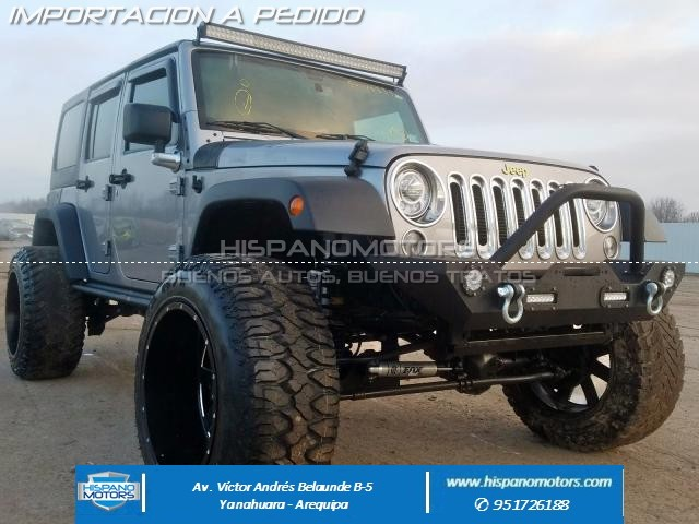 Foto del vehiculo: JEEP WRANGLER UNLIMITED SPORT 2017