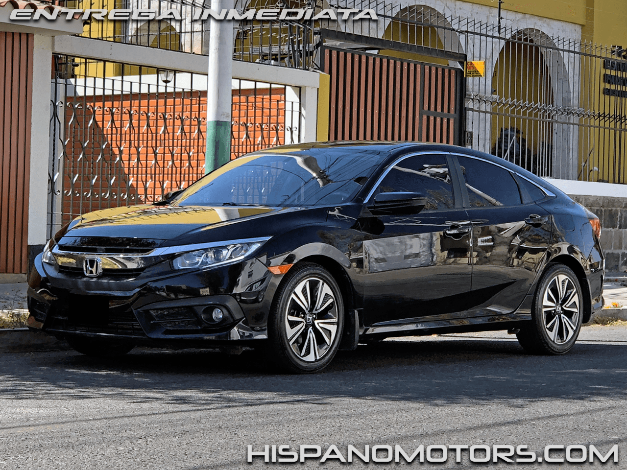 2017 HONDA CIVIC  EX-T 1.5 TURBO (MANUAL) - Arequipa - Perú - auto importado por Hispanomotors