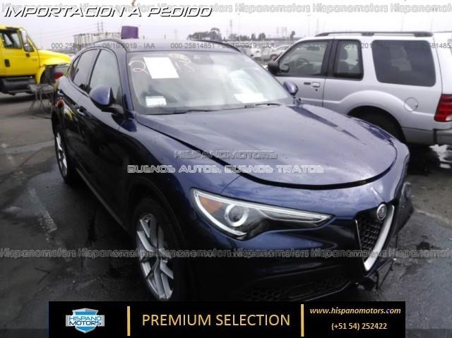 2018  ALFA ROMEO STELVIO SPORT AWD  - Arequipa - Perú - auto importado por Hispanomotors