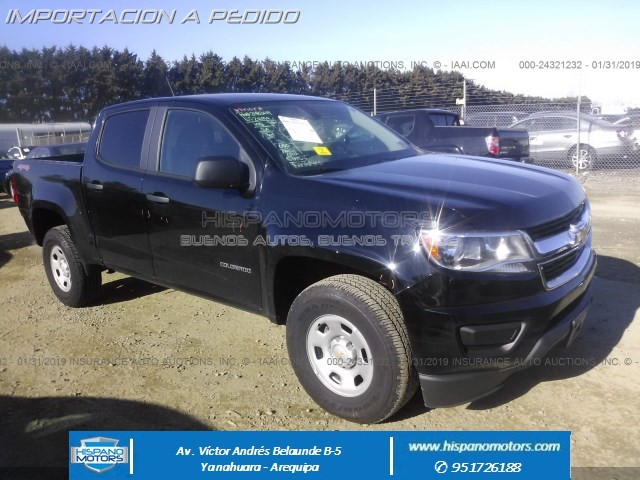 2018 CHEVROLET COLORADO  4WD Work Truck EDITION - Arequipa - Perú - auto importado por Hispanomotors