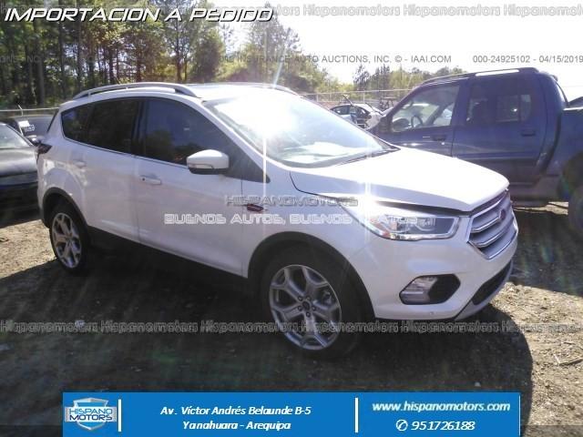 2018 FORD ESCAPE TITANIUM 2.0T - Arequipa - Perú - auto importado por Hispanomotors