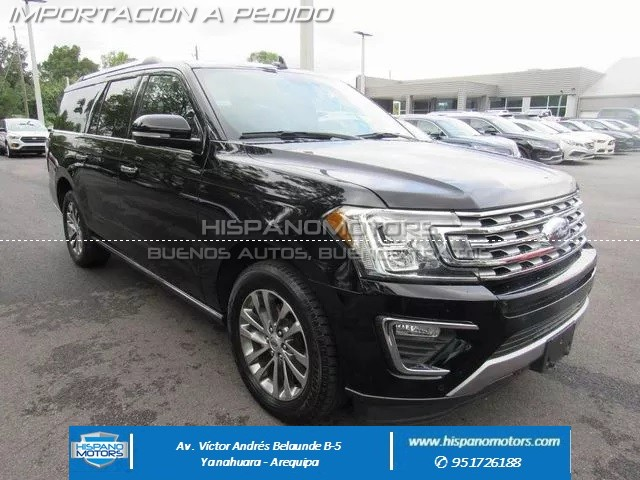 2018 FORD EXPEDITION MAX LIMITED - Arequipa - Perú - auto importado por Hispanomotors