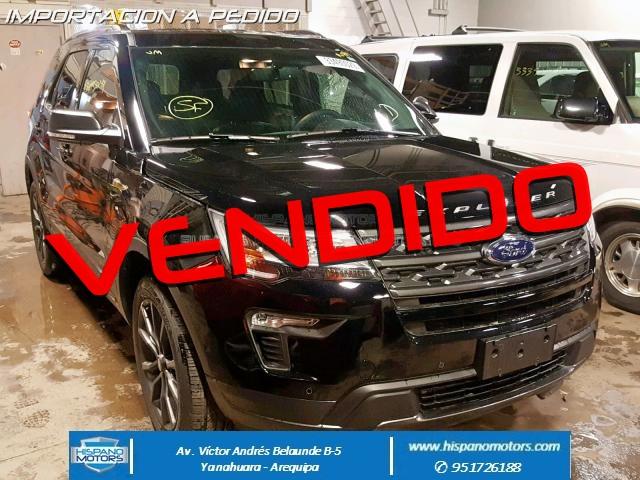 2018 FORD EXPLORER XLT 2.3T Ecoboost - Arequipa - Perú - auto importado por Hispanomotors