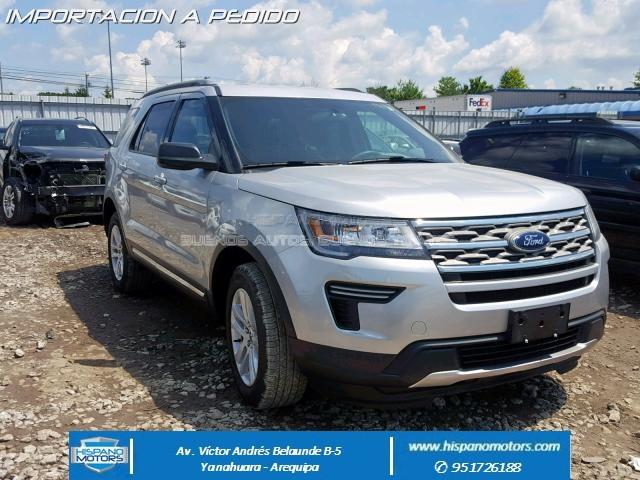 2018 FORD EXPLORER  XLT 2.3T 4X4 - Arequipa - Perú - auto importado por Hispanomotors