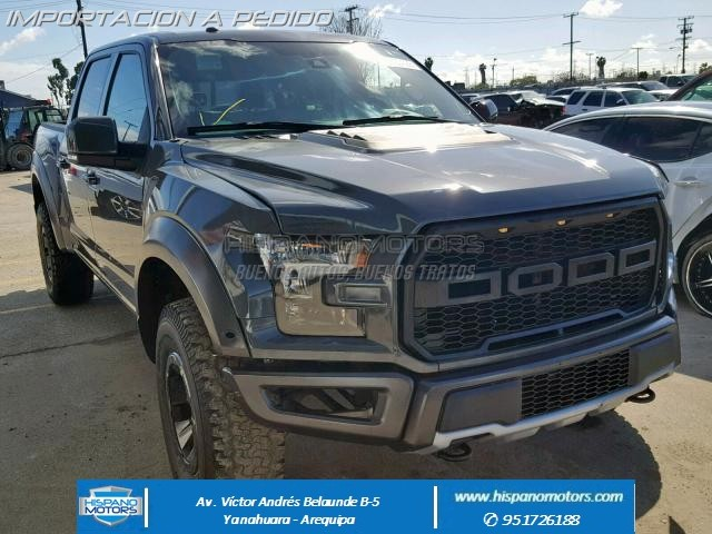 2018 FORD F150 RAPTOR CREW PICK UP - Arequipa - Perú - auto importado por Hispanomotors