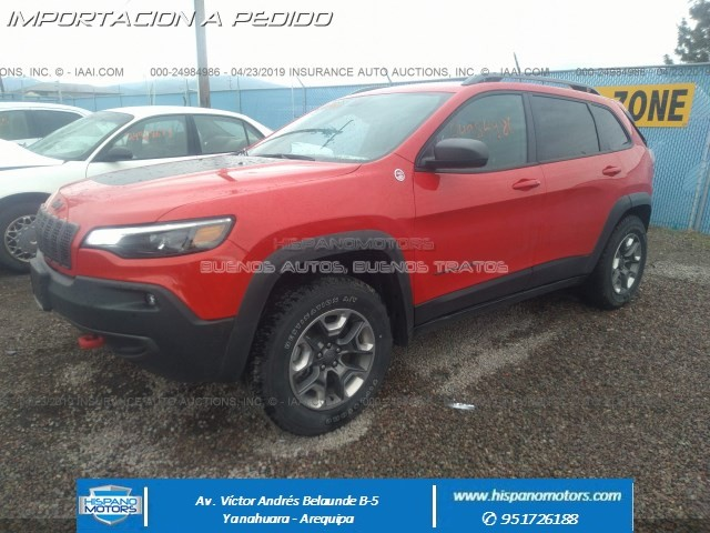 Foto del vehiculo: JEEP NEW CHEROKEE TRAILHAWK 2019