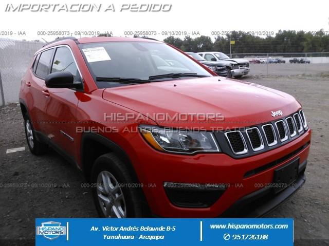 2019 JEEP COMPASS 4X4 SPORT MT  - Arequipa - Perú - auto importado por Hispanomotors