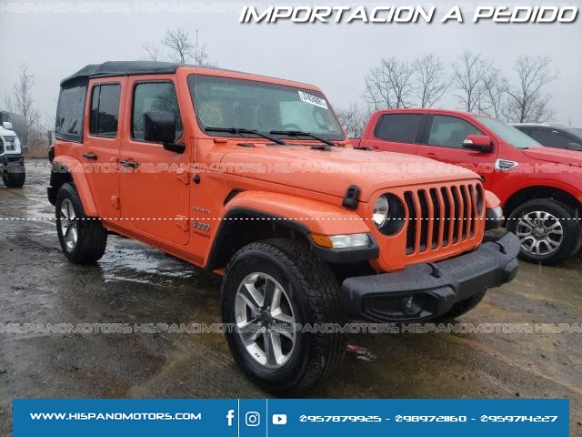 2020 JEEP WRANLER UNLIMITED SAHARA