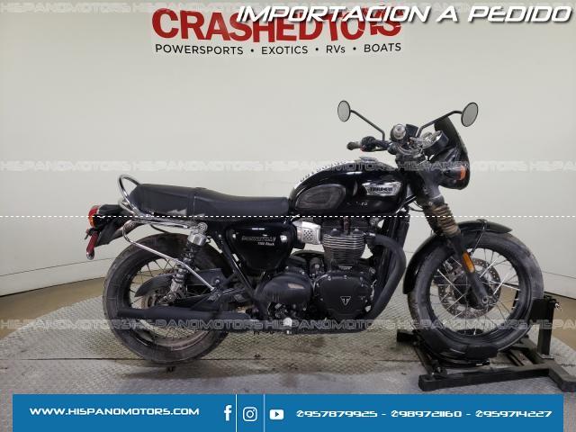 2020  TRIUMPH MOTORCYCLE BONNEVILLE T100 *BLACK* - Arequipa - Perú - auto importado por Hispanomotors