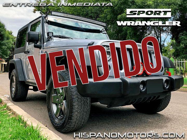 2013 JEEP WRANGLER SPORT S  - Arequipa - Perú - auto importado por Hispanomotors