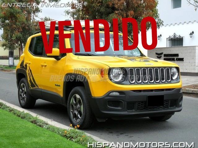 2015 JEEP RENEGADE ADVENTURE 4X4  - Arequipa - Perú - auto importado por Hispanomotors