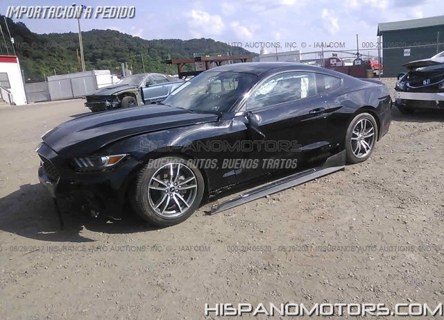 2017 FORD MUSTANG 2.3 TURBO