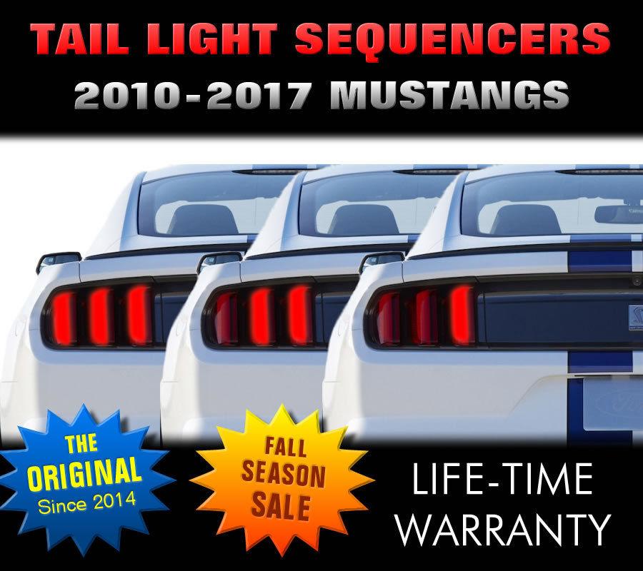 Mustang Tail Light Sequencer