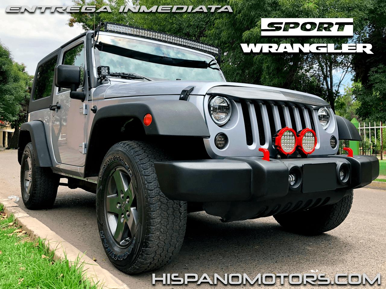 2013 JEEP WRANGLER SPORT S  MANUAL - Arequipa - Perú - auto importado por Hispanomotors